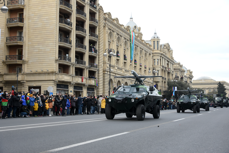 Baku parada